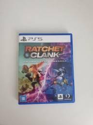 Vendo jogo Ratchet & Clank Ps5 com códigos Intactos