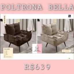 Título do anúncio: Poltrona Bella / poltrona bellá