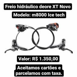 Freio hidráulico shimano deore XT m8000