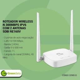 Roteador Wireless 300Mbps com 2 antenas bivolt Multilaser