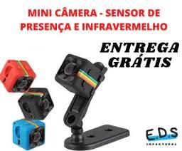 Mini Câmera SQ11 Espiã Visão Noturna Full HD