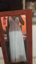 Vestido pré weekend - multiformas branco
