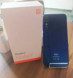 Redmi Note 7 128GB Azul Seminovo 6 Meses de Garantia