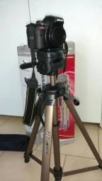 Vendo tripé de aluminio para filmadora ou maquina fotografica modelo wt3570