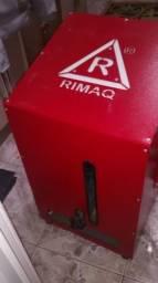 Máquina de chinelos, máquina de estampar canecas e impressora, TROCO EM MOTO