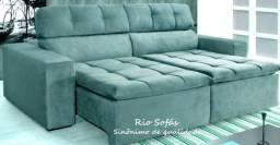 Sofá reclinável retrátil 3 ou 4 lugares oferta imbatível