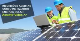 Energia Solar-Seja Um Profissional da Área com esse Curso online