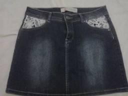 Saia Jeans Original Denim Nº 38
