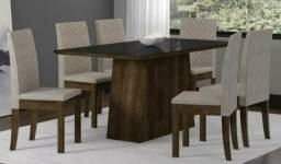 Super Oferta: Mesa de Jantar Elegance com 6 Cadeiras