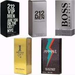 Perfume 50ml Masculinos e Femininos
