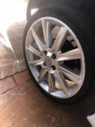 Rodas aro 17 com pneus Pra vender hoje