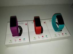 Relógio Inteligente Y5 Smartband Monitor Cardíaco Pressão Arterial