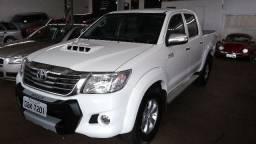 Toyota Hilux srv branca 2013 - 2013