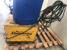 Maq de solda elétrica 300a portátil