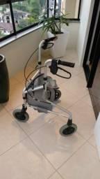 Andador adulto com rodas - confort