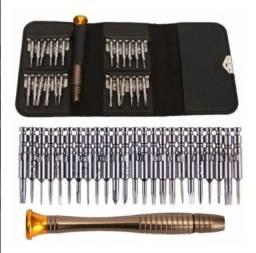Kit Ferramentas Chave de Precisão para Manutenção Celular Eletrônicos