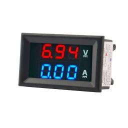 Mini Aperimetro com Voltimetro 100v ~100A
