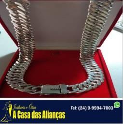 Cordão de prata 925 / 60Cm / 14 mm - - Pormoção