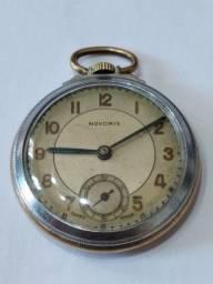 Relógio Antigo de bolso NOVORIS