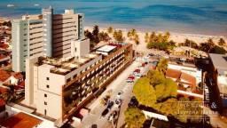 Oportunidade de investimento! Flat mobiliado a beira mar do Cabo Branco
