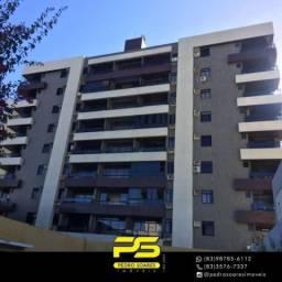 Apartamento com 4 dormitórios à venda, 160 m² por R$ 600.000 - Tambaú - João Pessoa/PB