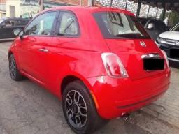 Vendo Fiat 500 Cult Dual Automático ? Vermelho ? em excelente estado de conservação