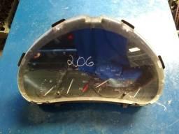 Painel de instrumento do Peugeot 206