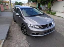 Honda Civic LXR 15/16 carro de garagem - 2016