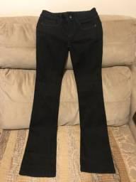 Vendo calça jeans preta 36