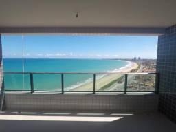 Excelente apartamento frente para o mar com 141 m² e 4 suítes