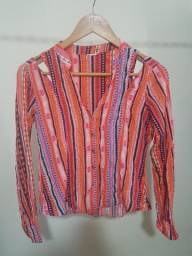 Camisa Malwee Estampada