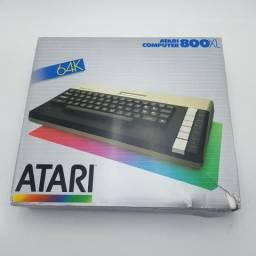 Atari 800XL compelto na caixa lindo