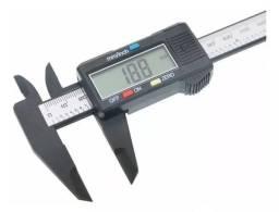Paquímetro Digital Caliper De Fibra De Carbono 100mm 0,01