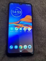 Troco por Samsung Moto E 6 Plus 64 Gigas Dual chip