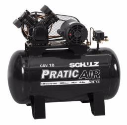 Compressor de Ar Pratic Air CSV 10/100 2HP 220V (380V) Schulz