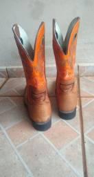 Vendo bota texana masculina