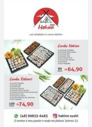 Combo Sushi 100 peças só 74,90