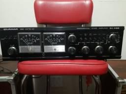 Amplificador/Mixer e Mesa - Quasar 5500-