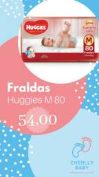 Fraldas huggies supreme care