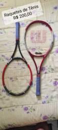 Par de raquetes