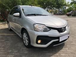 Toyota Etios Sedan XLS 1.5 Automático 2017/2018 C/ Couro Rodas e Multimídia
