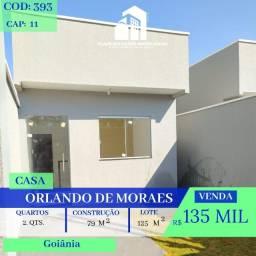 Casa De 2 Quartos - No Orlando De Morais