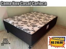 Cama box casal conjugada carioca 210,00 á vista + taxa de frete