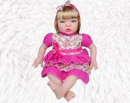 Boneca Reborn Realista Chora E Soluça
