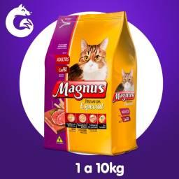 Ração Magnus Premium Especial Gatos Adultos Sabor Carne