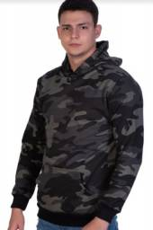 Blusa de frio Moletom canguru Camuflado Promoção