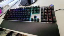 Kit Gamer Teclado Mecânico + Mouse Fortrek Pro Plus NOVO