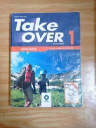 Livros didáticos de inglês da coleção Take Over