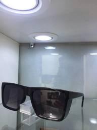Óculos de sol Alright modelo blacktrunk - acetato quadrado uv400 retro