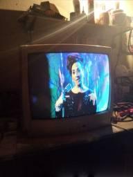 TV 20 semp Toshiba c conversor e antena